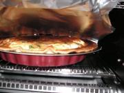卵と生クリームを混ぜて具と盛り