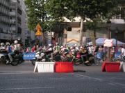 マイヨジョーヌを擁するCSC・サクソバンク