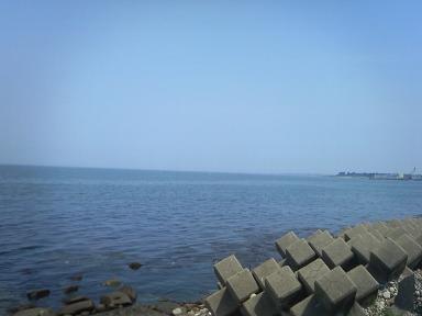 魚津の海20090627