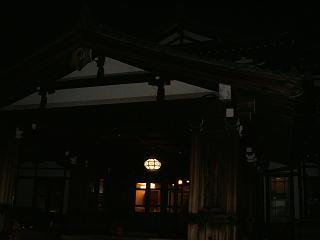 奈良ホテル夜景