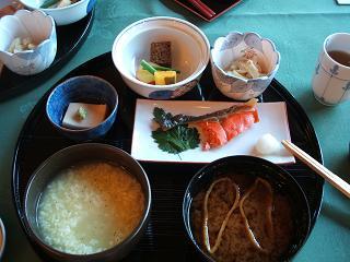 奈良ホテルの茶がゆ定食