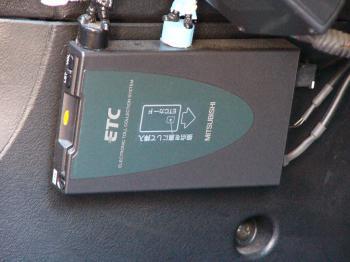 ETC車載機 三菱電機