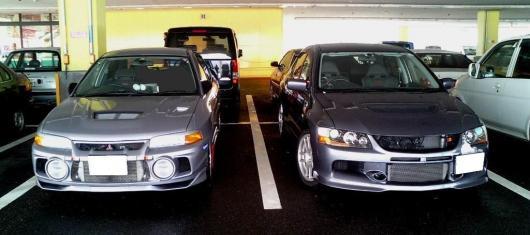 駐車場に帰って来たら・・・