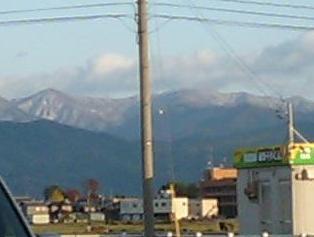 雪はすぐそこ!