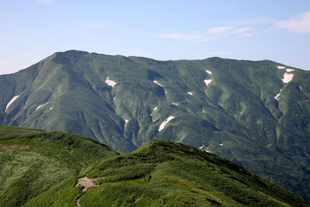 大日岳から西大日岳
