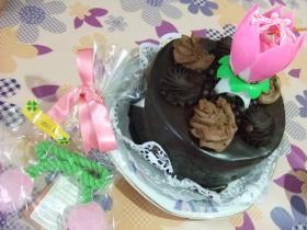 ケーキとプレゼント