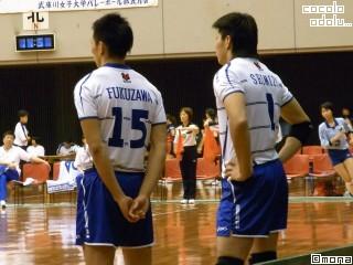 福澤さんの髪型が微妙でした←