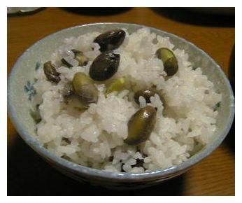 黒枝豆ご飯♪