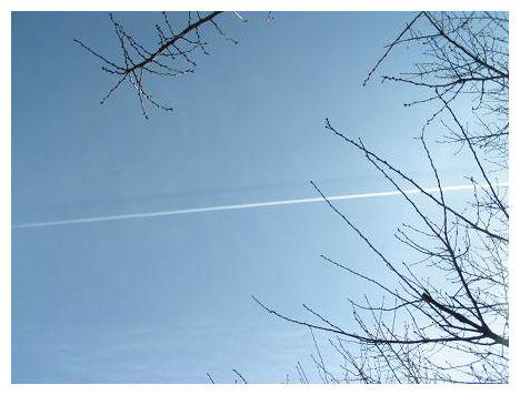 飛行機雲~3