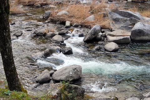 香嵐渓の渓流