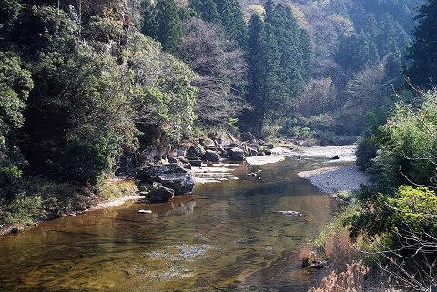 大千瀬川の風景