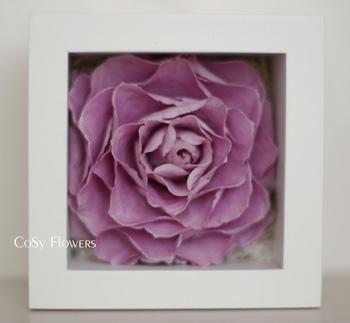 ローズキューブボックス(紫)