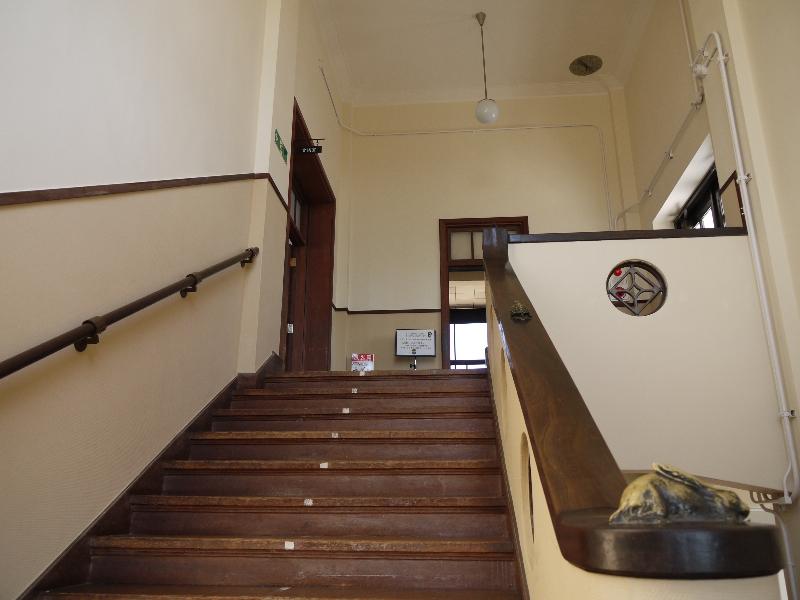 音楽室へ続く階段