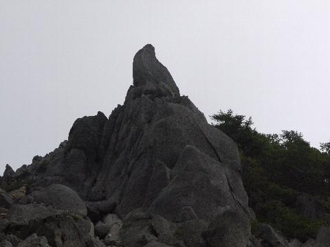 地蔵岳オベリスク