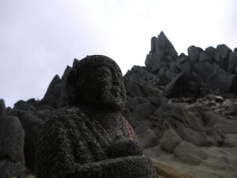 地蔵岳地蔵