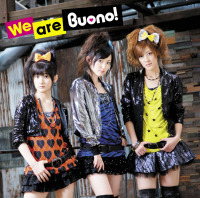 Buono!3rdアルバム「We are Buono!」DVD付き初回限定盤