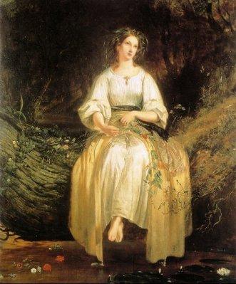 ]《オフィーリア》(1841)リチャード・レドグレイヴ2
