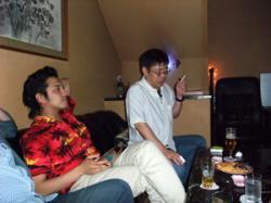 馬場さんと徳田君。えーと…w
