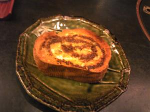 穴子トースト♪