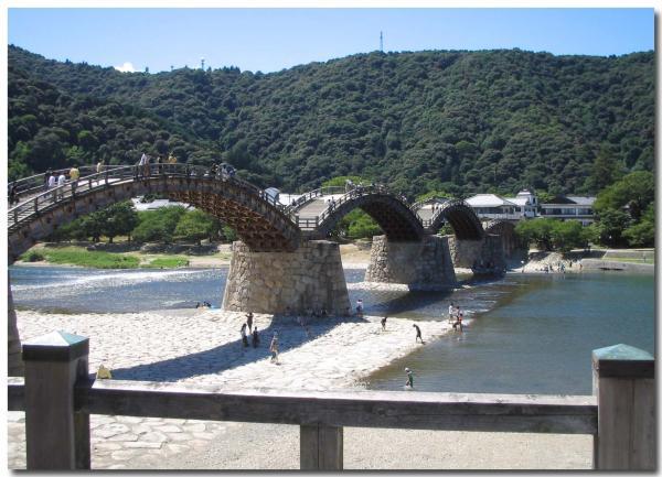 錦帯橋 橋