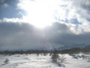 雲の浅間山