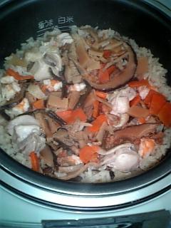 料理 2009年2月22日 鳥釜飯