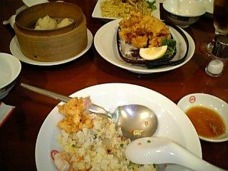 料理 2009年6月27日 蓬莱の晩ご飯 中華