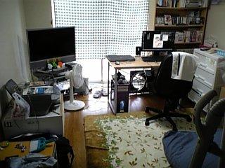 部屋 2009年8月27日 模様替え