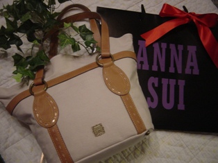ANNA SUIのバッグ♪
