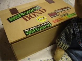 昔の紅茶の木箱♪