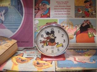 ミッキーのアンティーク時計♪