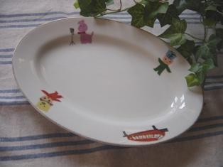 レトロなおこちゃま用カレー皿♪