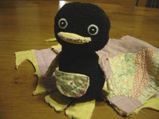 ペンギン制作中♪