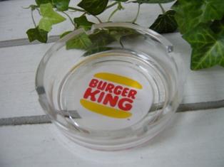 バーガーキングの灰皿♪