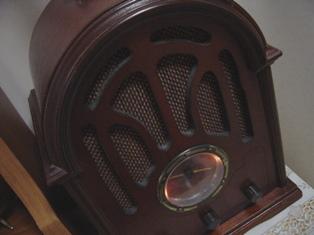 レトロなラジオ。。。