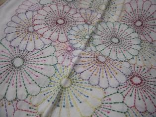 刺繍糸で。。。