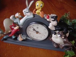 ルーニー・テューンズの時計♪