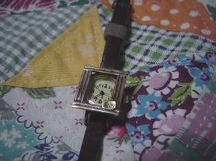 ハンドメイドの時計♪