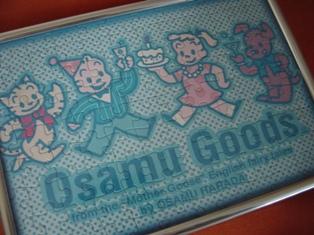 OSAMU GOODS パズル♪