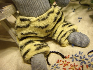 トラ柄のパンツ♪