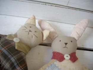 ネコとウサギ-1