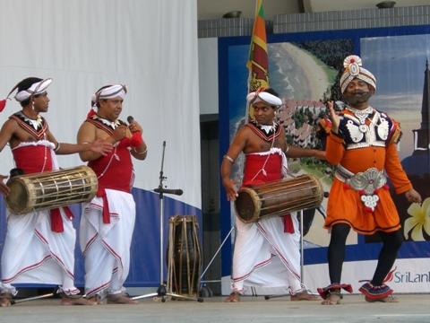 スリランカフェスティバル②