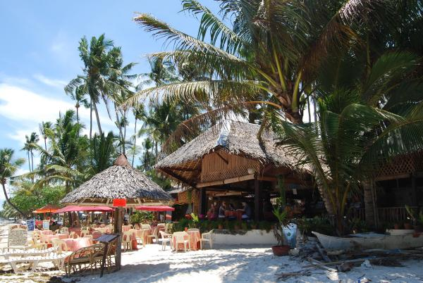 Restaurant on the beach