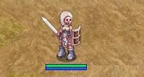 オーク剣装備