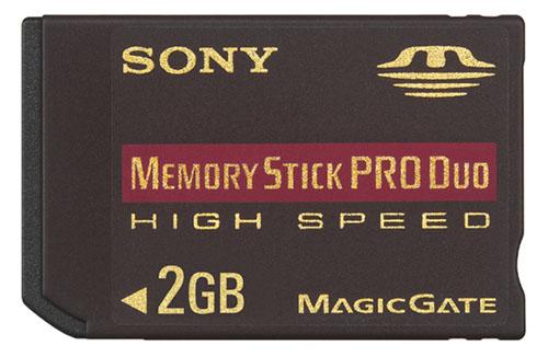 MemoryStick Pro Duo HighSpeed