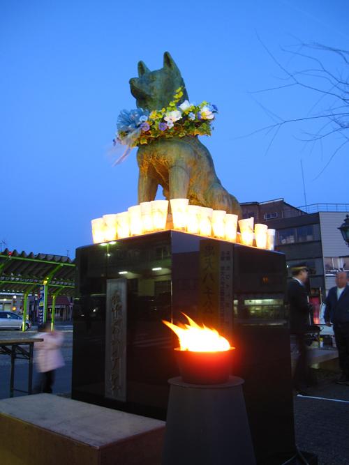 ハチ 慰霊祭5
