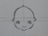 キューピー書き方・彫り方 012 blog