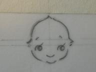 キューピー書き方・彫り方 015 blog