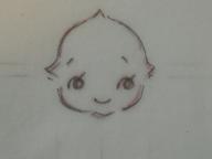 キューピー書き方・彫り方 002 blog