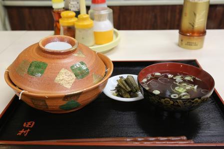中華料理 田村 黒豚ソースかつ丼 全体
